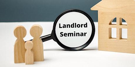 LANDLORDS Seminar - get the 2020 updates! tickets