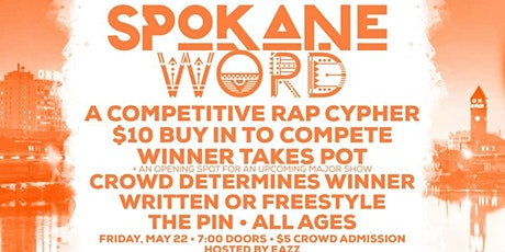 The Pin Presents 'Spokane Word', A Competitive Rap Cypher tickets