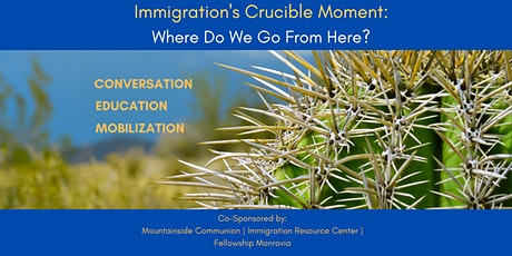 Immigration's Crucible Moment: Where Do We Go From Here? tickets