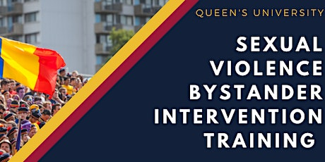 Sexual Violence Bystander Intervention Training - Open Session tickets