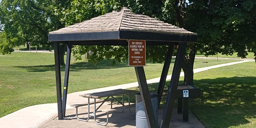 Park Shelter at Ray Miller Park - Dates in February and March