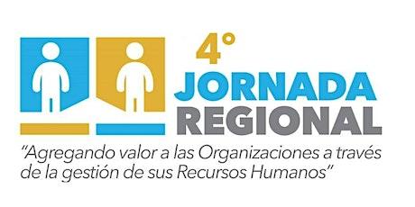 4ta Jornada Regional de Recursos Humanos entradas