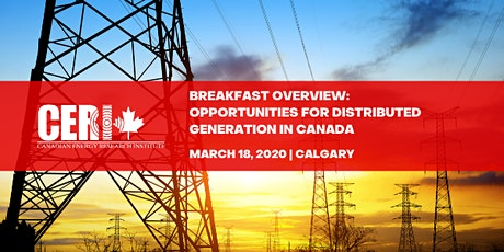 Breakfast Overview:  Opportunities for Distributed Generation in Canada tickets