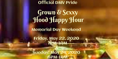 Official DMV Hood Happy Hour tickets
