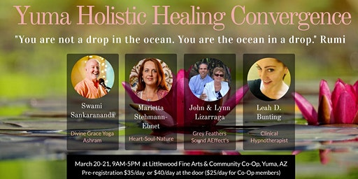 Spring Yuma Holistic Healing Convergence