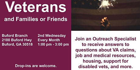 CANCELLED - Veterans Roundtable Monthly Meeting tickets