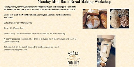 Basic Bread Making Workshop tickets