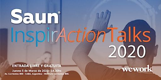Saun InspirAction Talks 2020 @ WeWork Corrientes 800