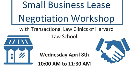 Small Business Lease Negotiation Workshop tickets