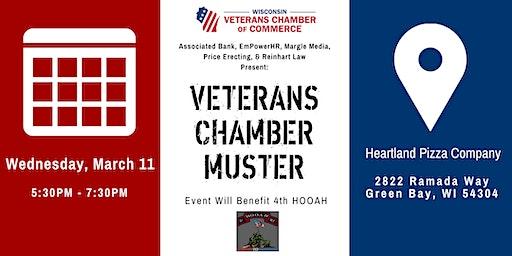 Veterans Chamber Muster- Green Bay, WI