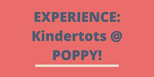 EXPERIENCE: KinderTots @ POPPY!