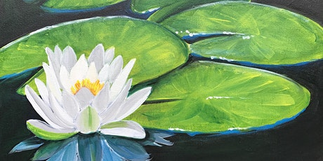 Painting and Vino presents The Gorgeous 'White Water Lily' tickets