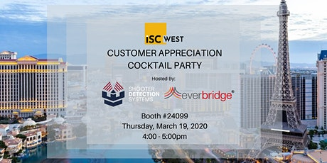 ISCW Cocktail Hour with SDS and Everbridge tickets