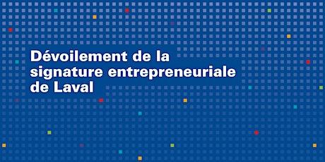 Dévoilement de la signature entrepreneuriale billets