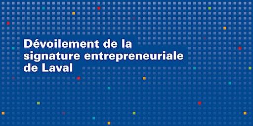 Dévoilement de la signature entrepreneuriale