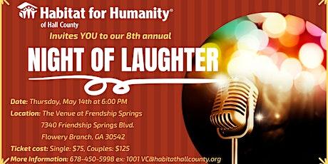 Night of Laughter FUNdraiser tickets