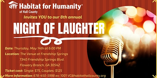 Night of Laughter FUNdraiser