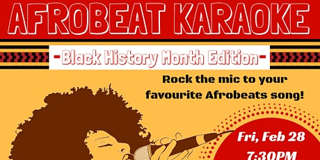 AFROBEAT KARAOKE: Black History Month Edition tickets