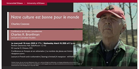 CONFÉRENCE BRONFMAN : Charles Coocoo tickets