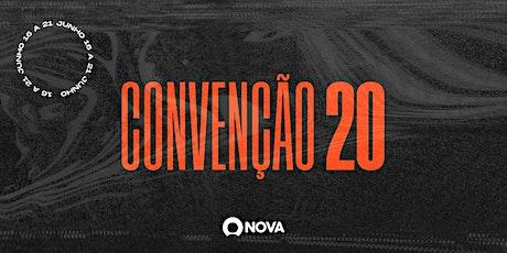 CONVENÇÃO 2020 ingressos