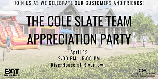 The Fifth Annual Cole Slate Team Appreciation Party
