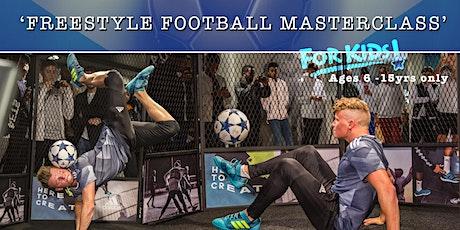 CBF Juniors / BFA Academy presents - Freestyle Football Masterclass by Jamie Knight tickets