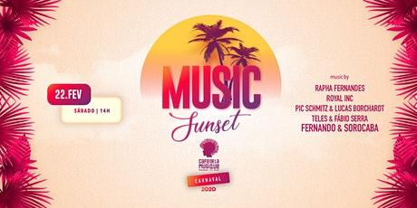 Music Sunset  22/02 - Café de La Musique Floripa ingressos