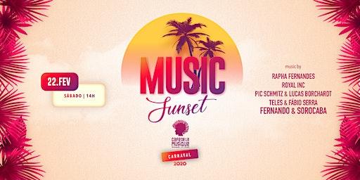 Music Sunset  22/02 - Café de La Musique Floripa