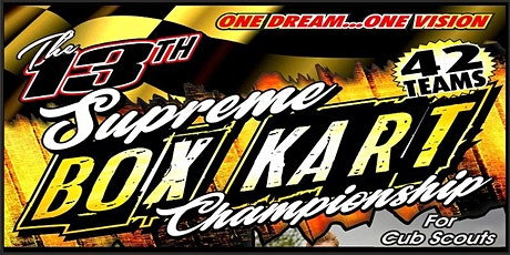 The 2020 Supreme Box Kart Championships tickets
