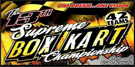 The 2020 Supreme Box Kart Championships tickets