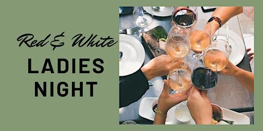 Red and White Ladies Night