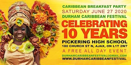 DURHAM CARIBBEAN FESTIVAL  tickets
