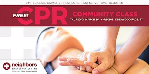 Free Community CPR Class - Kingwood
