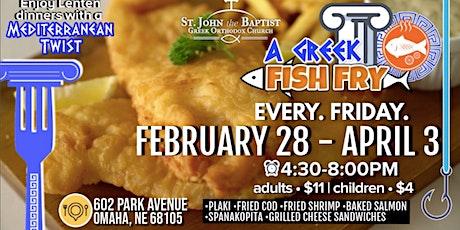 A Greek Fish Fry • Omaha tickets