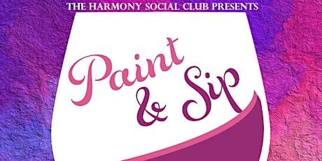 Paint & Sip! tickets