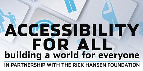 Accessibility for All – Building a world for everyone tickets