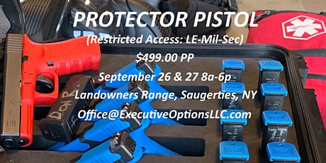 Protector Pistol tickets