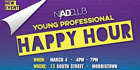 NJ AD Club Young Professional Happy Hour Social  tickets