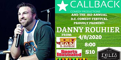 DC Comedy Festival- Danny Rouhier (106.7 The Fan, Sports Illustrated, TNT) tickets