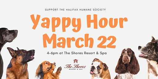 Yappy Hour at the Shores!