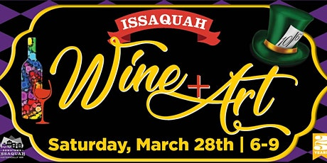 Downtown Issaquah Wine & Art Walk - Sorry - Event is Cancelled - Tickets Avail For May 16 tickets