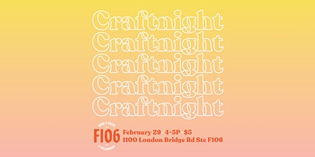 CraftNight~We're Making Candles! tickets