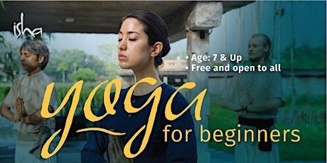 Yoga For Beginner tickets