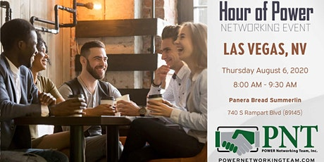 08/06/20 - PNT Las Vegas Hour of Power Networking Event tickets