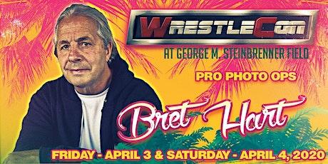 Bret Hart at WrestleCon 2020 - Tampa FL tickets