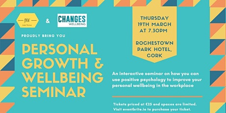 Personal Growth and Wellbeing Seminar tickets