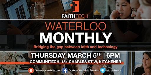 Waterloo March Monthly Meet Up