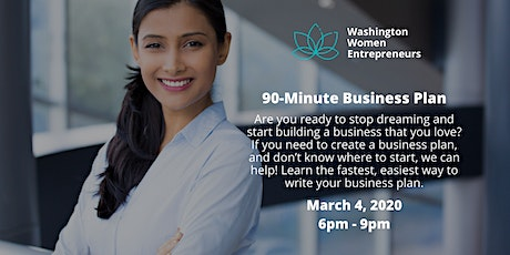 90-Minute Business Plan tickets