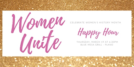 Women Unite Happy Hour