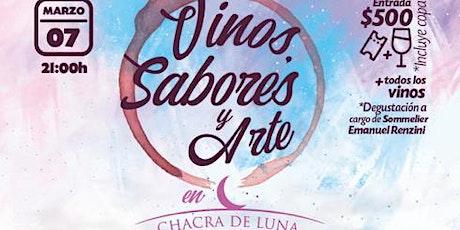 Vinos, Sabores y Arte en Chacra de Luna - RESERVA entradas